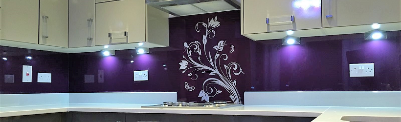 Stencil Decor Splashback