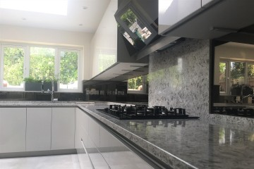 Bronze Tinted Mirror Splashback