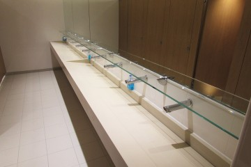 Washroom Shelves & Mirrors