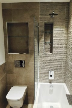 Bathrrom Shelves & Shower Screen