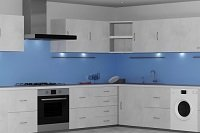 Custom Made Glass Splashbacks